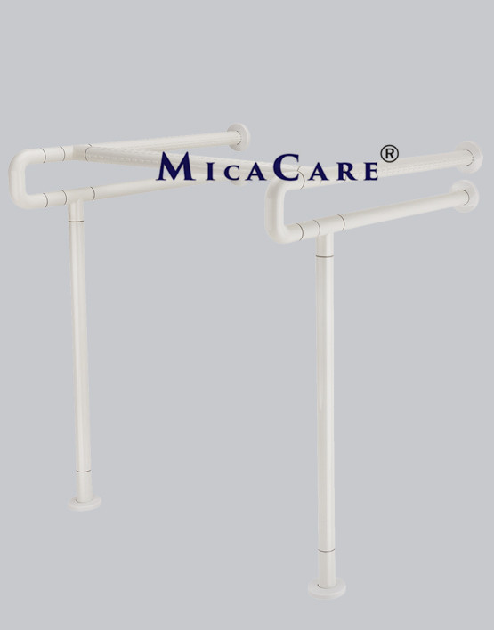 wall to floor wash basin grab bar | MicaCare Group