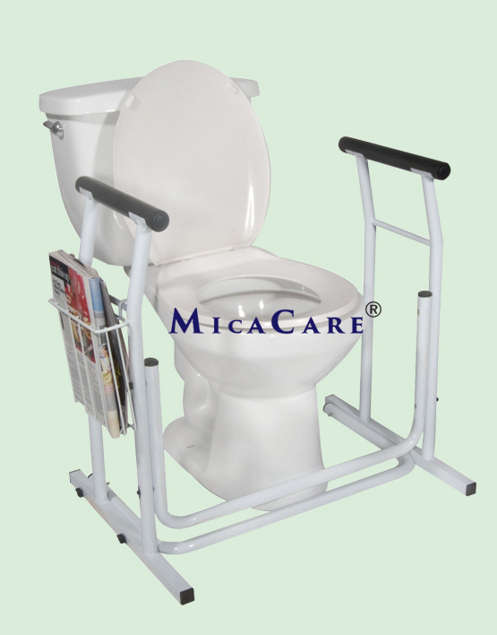 mc3326-free-standing-safety-toilet-frame-with-basket-attached
