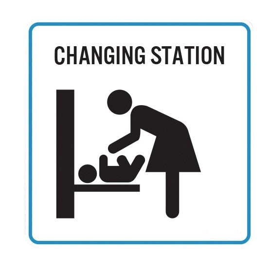 vertical baby station